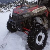 Buggy en Ronda con nieve